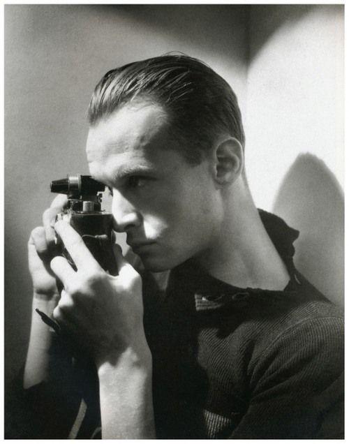 Photographer Henri Cartier-Bresson, 1933 - Photographed by George Hoyningen-Huene