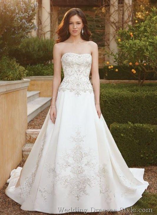 casablanca bridal   Casablanca Bridal FallWinter 2011 Wedding Gowns (1)