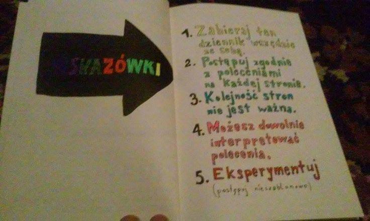 Podesłała Beata #zniszcztendziennikwszedzie #zniszcztendziennik #kerismith #wreckthisjournal #book #ksiazka #KreatywnaDestrukcja #DIY
