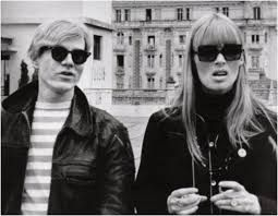 Beatnik Style ANDY WARHOL & singer NICO of The Velvet Underground (please follow minkshmink on pinterest)