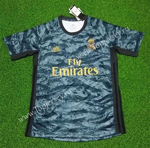 2019 2020 Real Madrid Goalkeeper Blue Thailand Soccer Jersey Aaa 418 Real Madrid Goalkeeper Soccer Jersey Real Madrid
