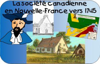 Site de l'univers social au primaire » La société canadienne en Nouvelle-France vers 1745