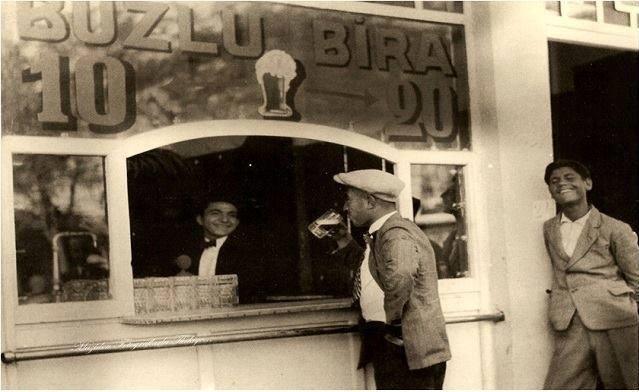 1933 Eylül Ankara Ayaküstü buzlu Bira