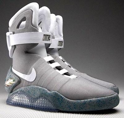 Les baskets Nike à laçage automatique de Marty McFly (Retour vers le futur 2) seront disponibles dès 2015 !