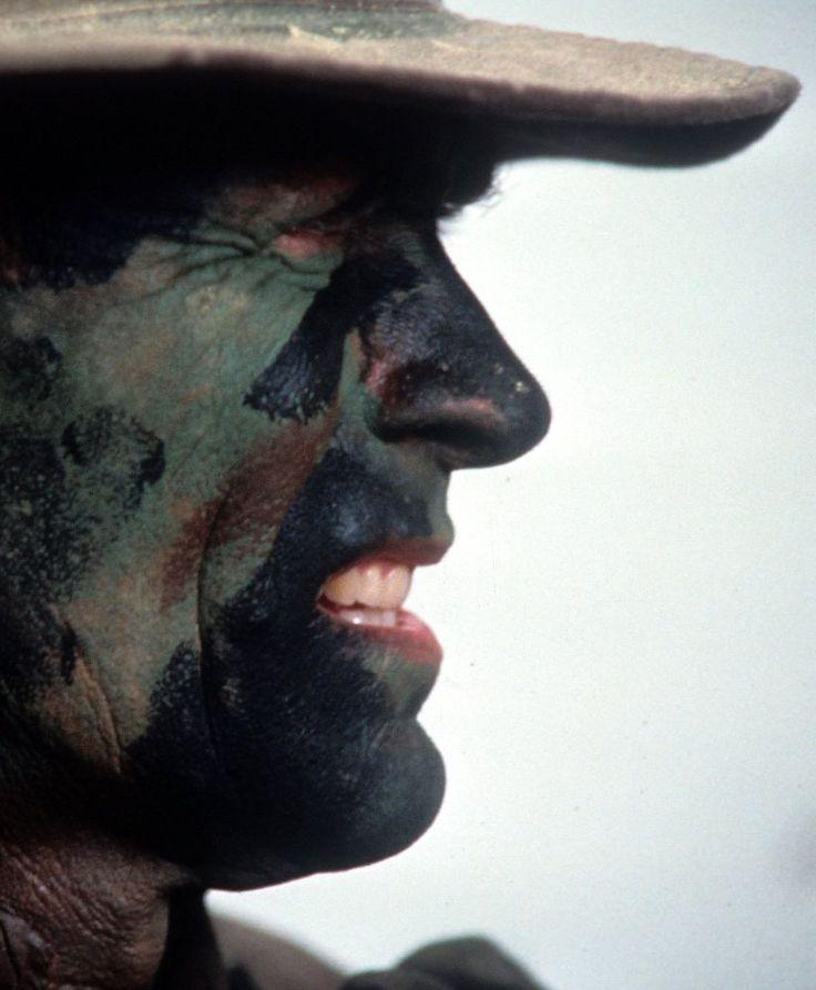 "Clint Eastwood en ""El Sargento de Hierro"" (Heartbreak Ridge), 1986"