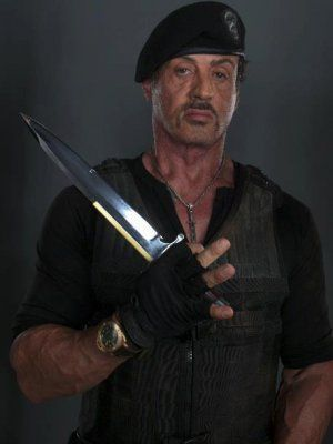 Sly Stallone as Barney Ross