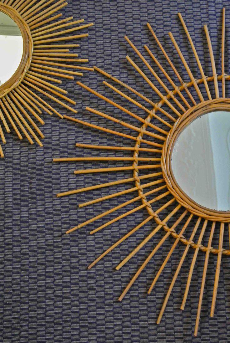 1000 ideas about miroir en rotin on pinterest miroir de for Miroir rotin oeil
