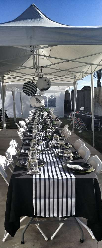 Nightmare Before Christmas Baby Shower Party Ideas | Photo 8 of 22