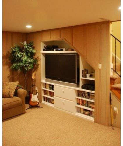 Great Idea For A Small Basement Finished Basement