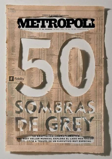 "typeverything: ""Typeverything.com - La Luna de Metrópoli magazine, art direction by Rodrigo Sánchez. """