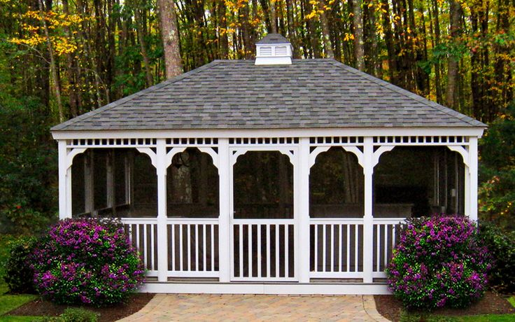 A Large Rectangular Gazebo Means Plenty Of Space For