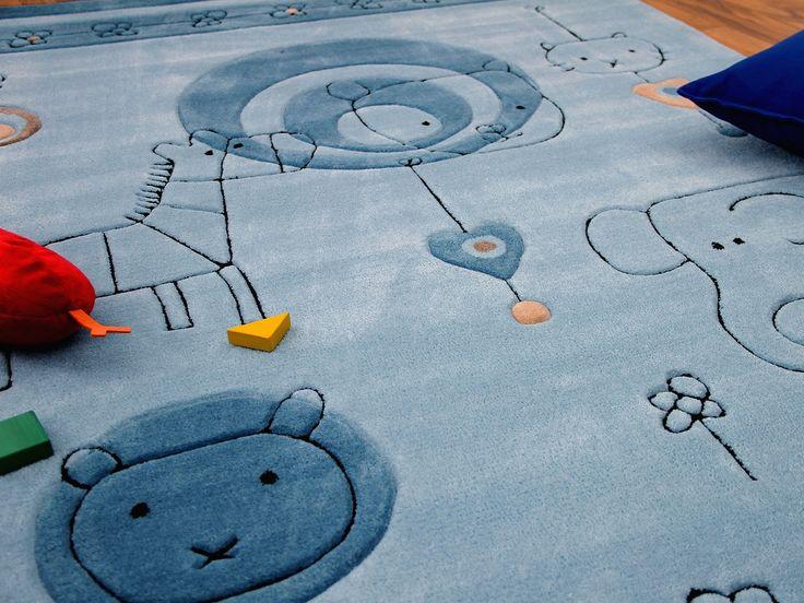 Kinderteppich blau  Die besten 25+ Blaue Teppiche Ideen auf Pinterest | Marineblaue ...