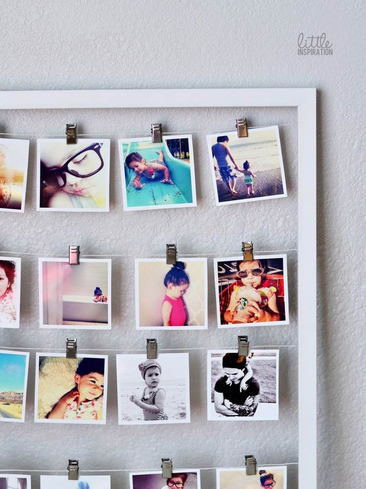 17 beste idee n over fotocollage canvas op pinterest - Cadre photo pele mele original ...