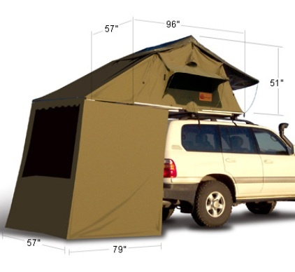 outdoors eezi awn rooftop suv tent getoutdoorscom outdoor blog camping pinterest