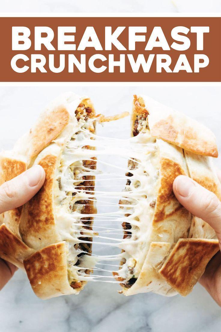 Breakfast crunchwrap recipe breakfast crunchwrap recipes