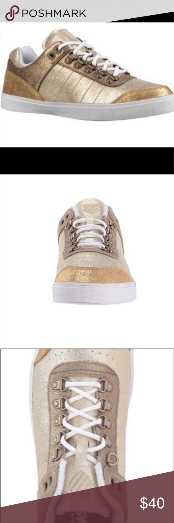 KSWISS Gold Glitter Sneakers Schöne und bequeme KSWISS Sneakers. Drei …