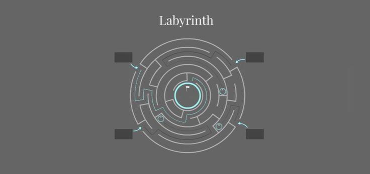 Labyrinth Free Presentation Template | Prezibase