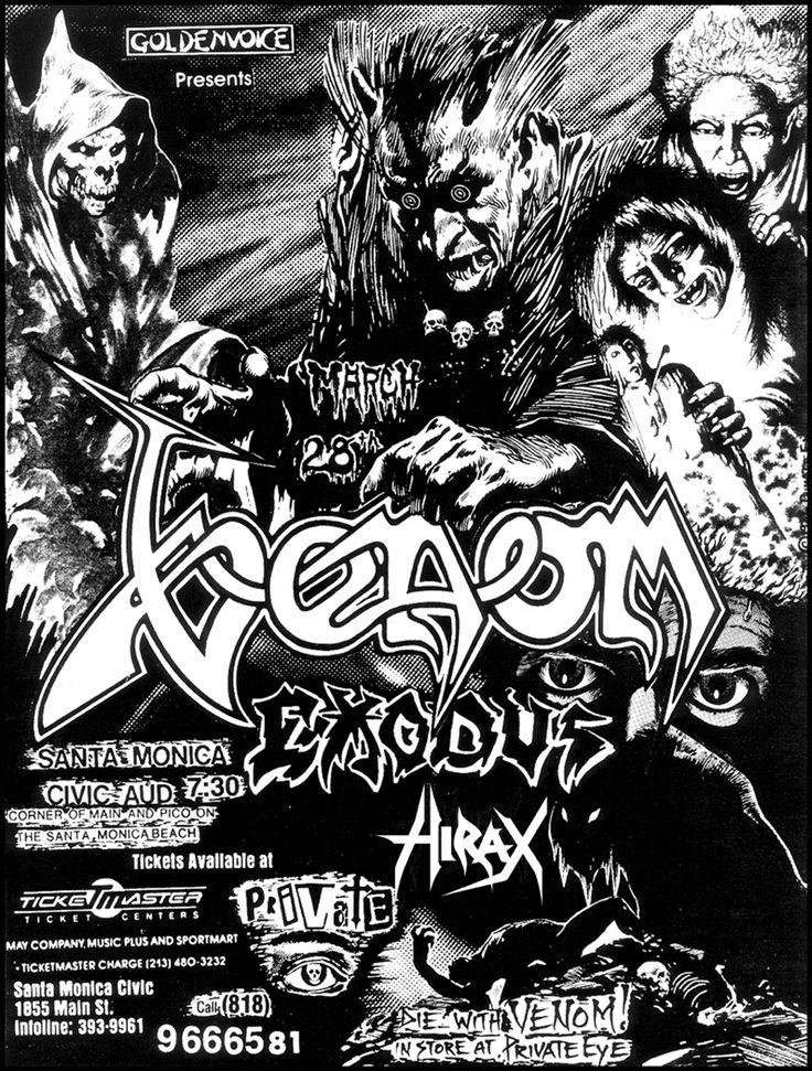 Venom Band | VENOM: Life Without Mantas | Demolish Magazine