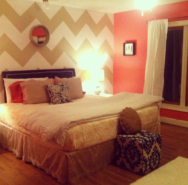 Vintage Bedroom Design Ideas Turquoise Bedroom Paint Ideas Bedroom Decor Items Bedroom Ideas Mink: 1000+ Ideas About Chevron Teen Rooms On Pinterest