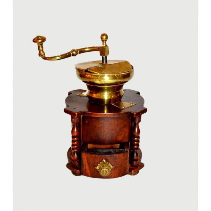 Coffee grinder,Italy 19th century Dimensions: 23x28x23 Weight: 2000gr.
