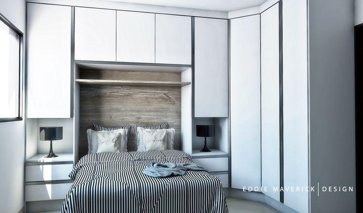 Truques para o pequeno quarto de casal com guarda-roupa. (Parte 2) | Forma Expressa | site de decorção, inspiração e DIY