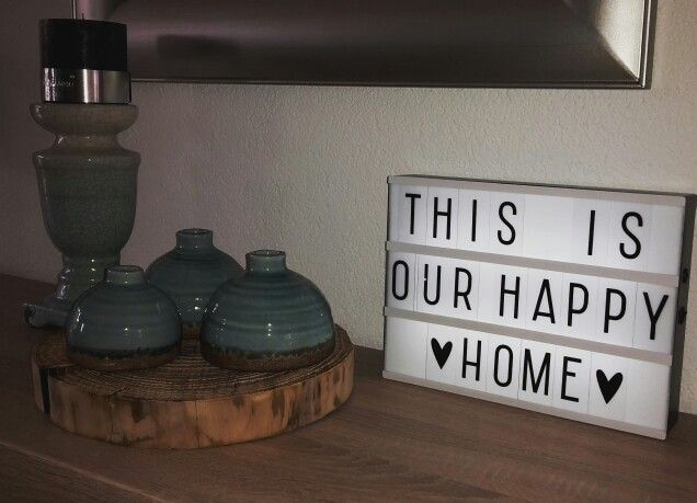 This is our happy home  #lightbox #happyhome