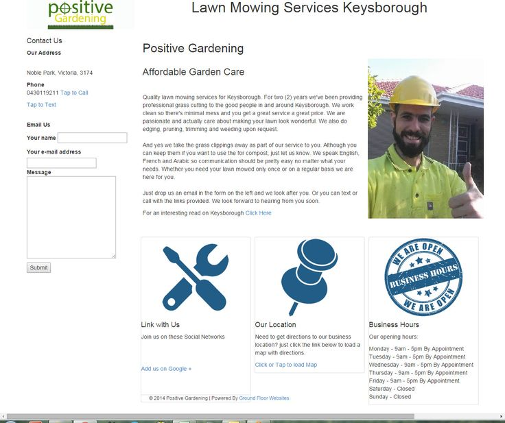 http://www.groundfloorwebsites.com.au/wp-content/uploads/2015/04/LawnMowingServicesKeysborough.jpg  Lawn Mowing Services Keysborough - Lawn Mowing Services Keysborough  Yep, another one is live! Keysie this time ;)   - http://www.groundfloorwebsites.com.au/lawn-mowing-services-keysborough/