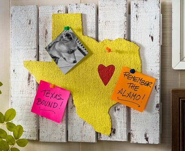 Make one of these for all of my states, mount them on the craft papers that I like or on photos from each state, and then frame and mount
