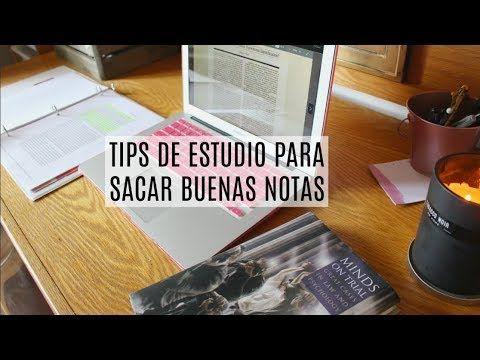 COMO SACAR BUENAS NOTAS EN EXAMANES Y CLASES | TIPS DE ESTUDIO