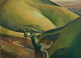 """Dorrit Black. Dorothea Foster Black (Australian, 1891-1951)  """"In the Foothills"""", 1942"""