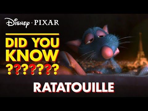 Pixar Did You Know? | Facts About Ratatouille -  Get a scoop of these rich facts from Ratatouille! | Disney•Pixar