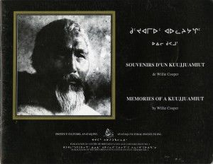 [Memories of a Kuujjuamiuq]  The interview selected for the first publication of Avataq Cultural Institute was given by Willie Cooper, a Kuujjuaq elder, in the spring 1985. It probably is the only interview given by this hunter, deceased in 1986, during his life. Several of the photographs used to illustrate the text are being published for the first time.