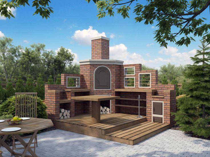 Wędzarnia ogrodowa wolnostojąca o powierzchni 5,18 m2