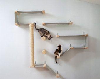 Sky Track gatto amaca scaffali del gatto di CatastrophiCreations