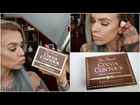 (VEGAN) Too Faced Cocoa Contour Review & Demo- Rhian HY/ WIFELIFE - YouTube