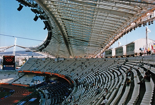Athens Olympic Stadium (OAKA) during the Olympic games