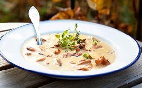 > Chanterelle soup, Arla FI