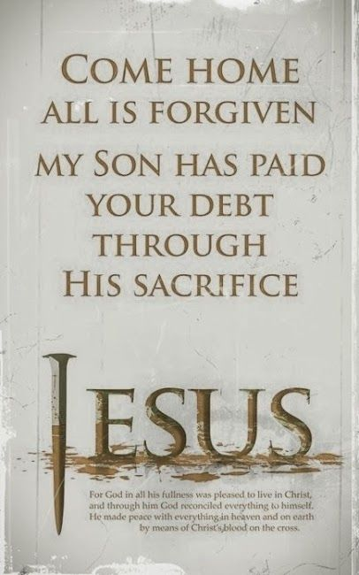 Come home to Jesus | ~Pinning for the LORD~ | Pinterest | God, Christ and Faith