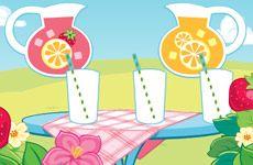 Juegos de Fresita.com - Juego: Limonada Rosita Fresita Gratis Online - Rosita Fresita Frutillita Tarta de Fresa
