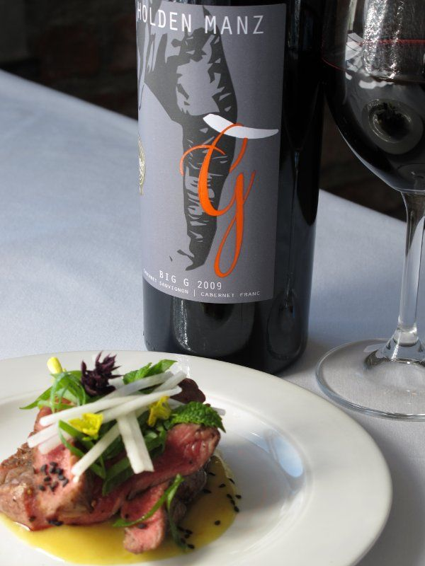 Holden Manz| food and wine pairing