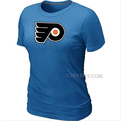 http://www.xjersey.com/nhl-philadelphia-flyers-big-tall-womens-logo-lblue-tshirt.html NHL PHILADELPHIA FLYERS BIG & TALL WOMEN'S LOGO L.BLUE T-SHIRT Only $26.00 , Free Shipping!