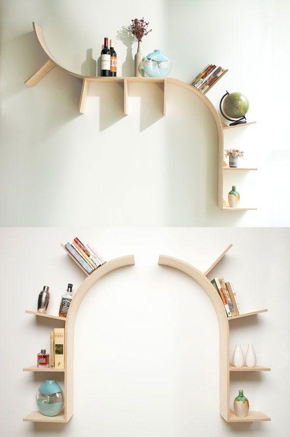 Arched Book Shelves #PrimroseReadingCorner