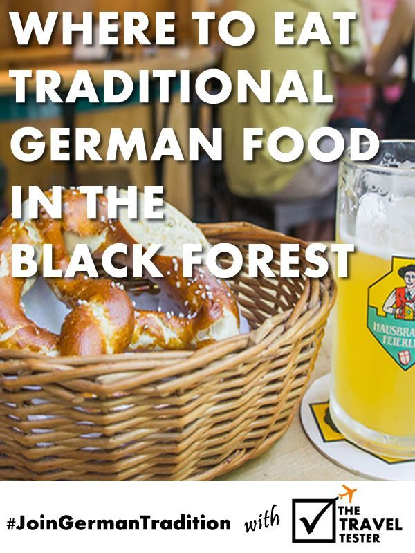 10 Different Types of Local Delicacies from the Black Forest Region in Germany
