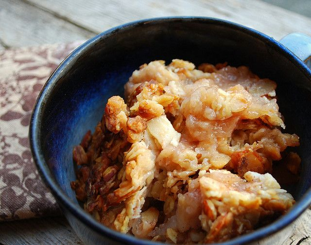 Breakfast Granola Apple Crisp | APPLE crazy... | Pinterest