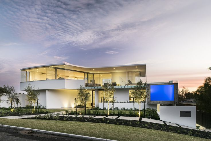 With clean lines and a minimalist aesthetic, there's a distinct resort feel to this home design, created to complement the sweeping coastal views and unique topography of our client's City Beach block. Entry | Coastal Home | Contemporary | Luxury | Custom Home