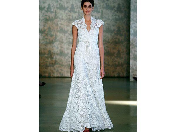 Monique Lhuillier  / vestido de novia / boda