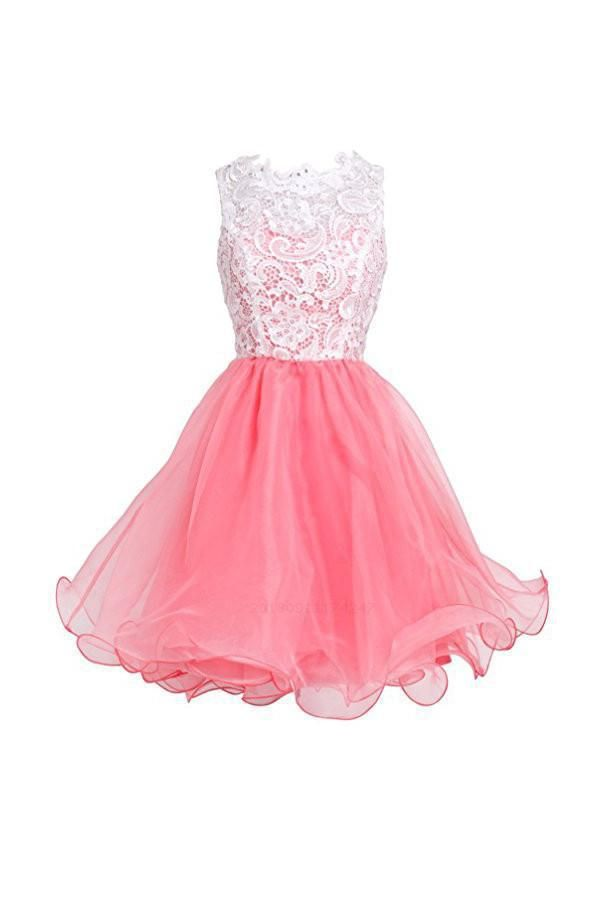 3604a38ebdf Hot Sale Colorful Prom Dresses Short High Quality Organza Short ...