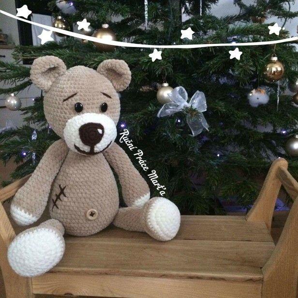 Crochet - Ohromný medvěd