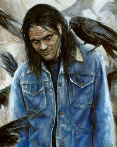Randall Flagg from Stephen King's The Stand
