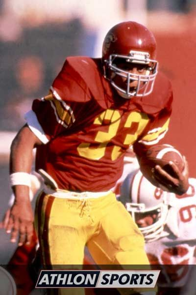 Marcus Allen was college football's first 2,000-yard rusher when he posted an absurd 2,427 yards in 1981. He became USC's fourth Heisman Trophy winner that year, setting 14 new NCAA records and tying two others